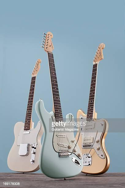 A Fender American Vintage '65 Stratocaster Fender American Vintage '59 Stratocaster and a Fender American Vintage '65 Jazzmaster taken on October 23...