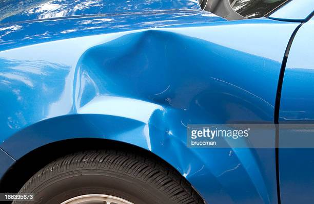 fender bender - damaged stock pictures, royalty-free photos & images