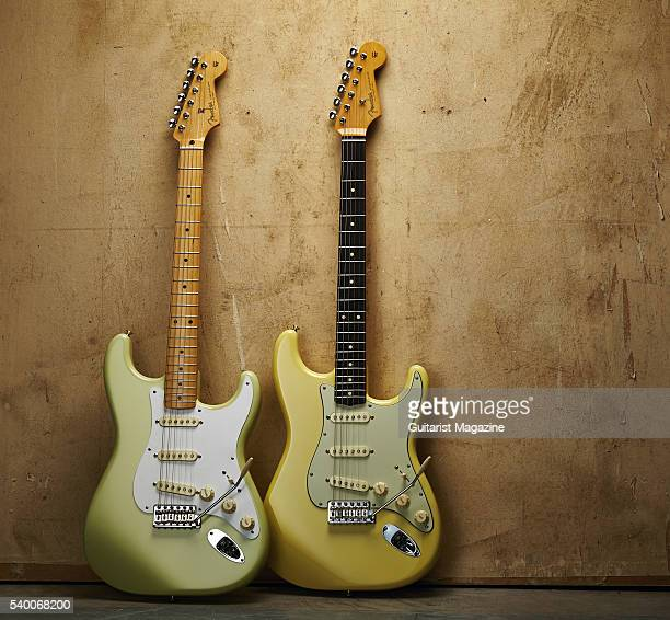 A Fender Classic Series Special Edition '50s Stratocaster and Fender Classic Series Special Edition '60s Stratocaster taken on October 12 2015