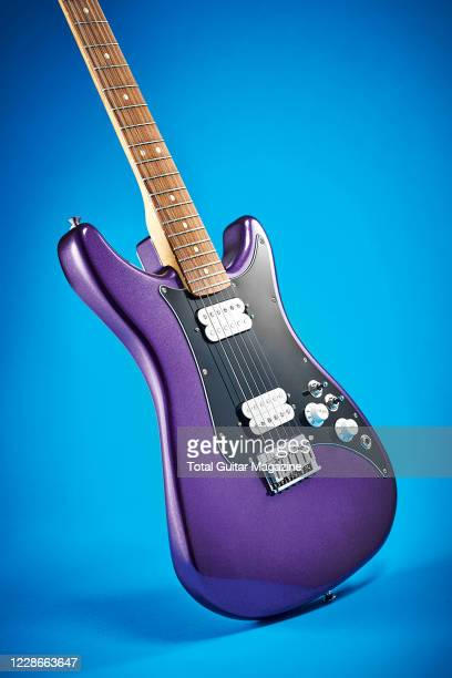 A Fender Lead III electric guitar with a Metallic Purple finish taken on February 13 2020