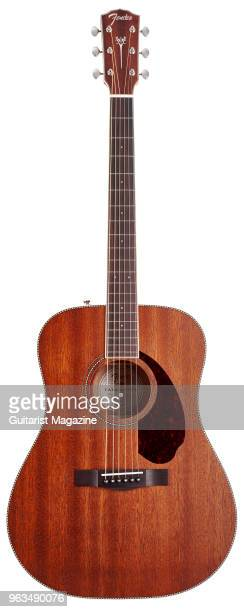 Fender PM-1 Standard Dreadnought All-Mahogany NE acoustic guitar, taken on May 25, 2017.