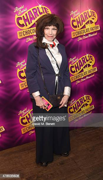 Fenella Fielding attends the Charlie and the Chocolate Factory second birthday after party at Sway on June 25 2015 in London England
