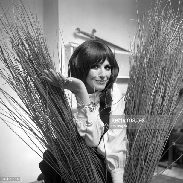 Fenella Fielding the actress who will give a onewoman entertainment piece next Sunday at the Withy Arts Festival in Somerset is seen in London...