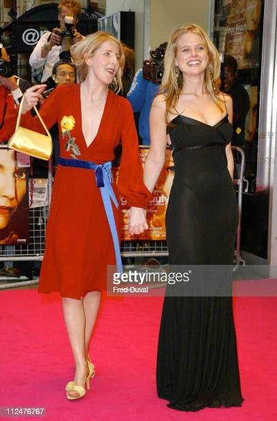 Fenella Woolgar and Alice Eve during Stage Beauty London Premiere Arrivals at Odeon Westend Leicester Square in London England United Kingdom