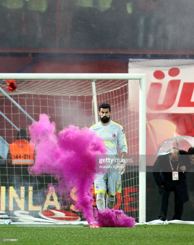 Trabzonspor vs Fenerbahce : News Photo