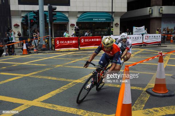 Feng Chun Kai participates in Men's Open during the Sun Hung Kai Properties Hong Kong Cyclothon>> on October 8 2017 in Hong Kong Hong Kong Over 2500...