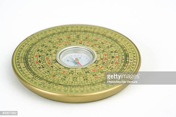 feng shui compass, close-up - feng shui stock photos and pictures