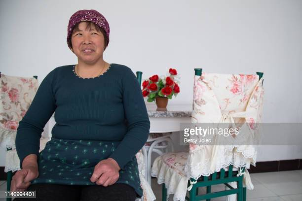 Feng Zhi Tian in her home on April 30 2019 in Tuanjiecun China Milk consumption in China has tripled over the past eight years As China's dairy...