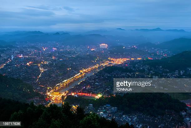 Fenghuang city from the top