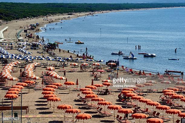 Feniglia Beach, Argentario, Tuscany, Italy
