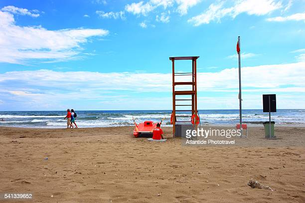 feniglia beach - orbetello imagens e fotografias de stock