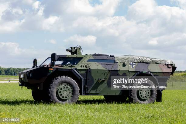 Fennek armoured reconnaissance vehicle of the German Army.