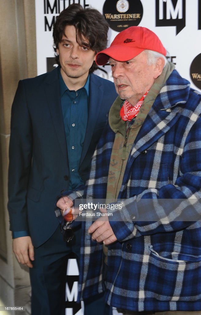 Fenton Bailey and David Bailey attend the Human Relations private view at Imitate Modern on May 1, 2013 in London, England.