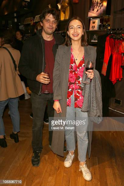 Fenton Bailey attends the launch of Wanda Orme X Coco De Mer's new latex imagery on October 24 2018 in London England