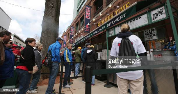 Fenway Park and the Boston Red Sox have enjoyed a lucrative deal with the City of Boston which allows the Sox to close down Yawkey Way on game days...