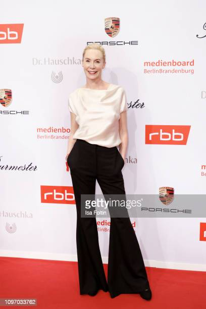 Feo Aladag attends the Medienboard BerlinBrandenburg Reception on the occasion of the 69th Berlinale International Film Festival at Ritz Carlton on...