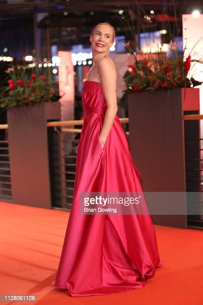 Feo Aladag attends the The Kindness Of Strangers premiere during the 69th Berlinale International Film Festival Berlin at Berlinale Palace on...