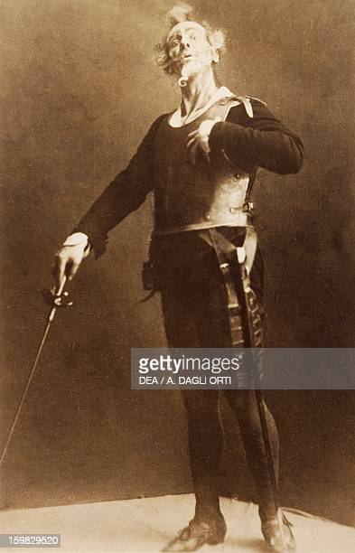 Feodor Ivanovich Chaliapin Russian bass as Don Quixote in the homonymous opera by Jules Massenet Milan Museo Teatrale
