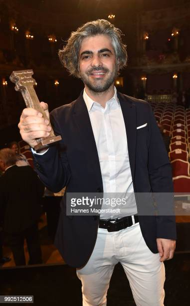 Feras Fayyad attends the Bernhard Wicki Award 2018 during the Munich Film Festival 2018 at Cuvilles Theatre on July 5 2018 in Munich Germany