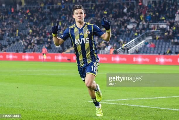 Ferdi Kadioglu of Fenerbahce SK during the Ziraat Turkiye Kupasi match between Fenerbahce AS and Istikbal Mobilya Kayserispor at the Ulker Stadyumu...