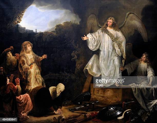 Ferdinand Bol Dutch painter The Holy Women at the Sepulchre 1644 National Museum of Denmark Copenhagen Denmark