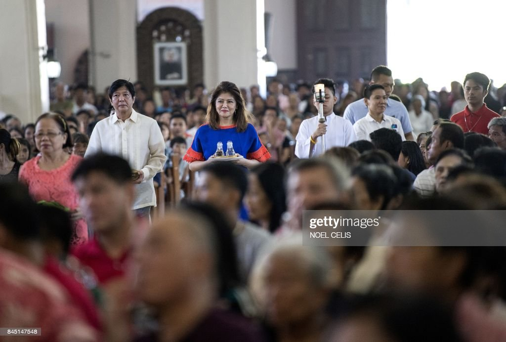 PHILIPPINES-POLITICS-MARCOS-RIGHTS : News Photo