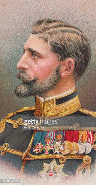 Ferdinand I King of Romania 1917 From Will's Cigarettes 'Allied Army Leaders' cigarette card series 1917