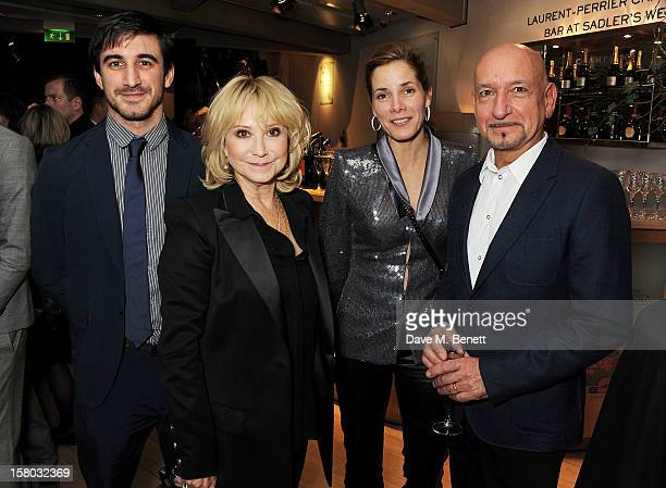 Ferdinand Kingsley Felicity Kendal Darcey Bussell and Sir Ben Kingsley attend an after party following the press night performance of Matthew...