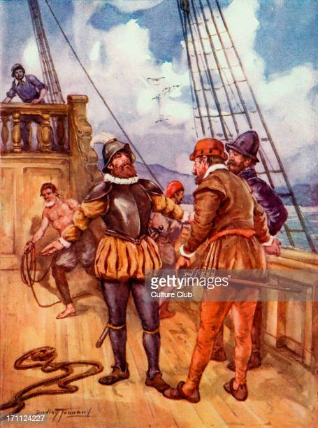 Ferdinand Magellan Ferdinand Magellan Caption reads 'The fearless sailor who linked two oceans' Painting by Dudley Tennant By order of the Spanish...