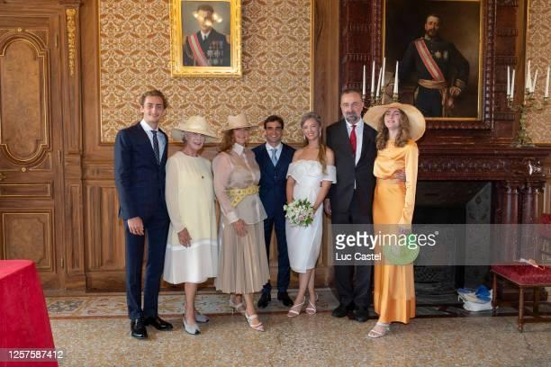 Ferdinand of Habsburg, Fiona Campbell-Walter, Archiduchess Francesca of Habsburg, Jerome d'Ambrosio, Eleonore of Habsburg, Archiduc Karl of Habsburg...