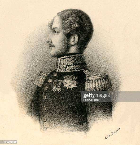 Ferdinand Phillippe Lis Cles Hri Duc d'Orleans Prince Royal' circa 1830 Ferdinand Philippe Duke of Orleans born in exile in Sicily heir to the House...