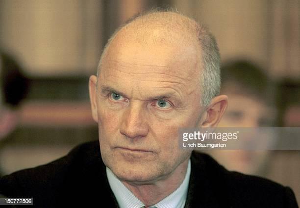 Ferdinand PIECH chairman of the board of management of the Volkswagen AG in Wolfsburg