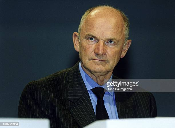 Ferdinand PIECH chairman of the board of management of the Volkswagen AG