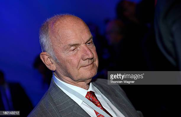 Ferdinand Piech looks on during the Group night at the international motor show IAA on September 9 2013 in Frankfurt am Main Germany The world's...