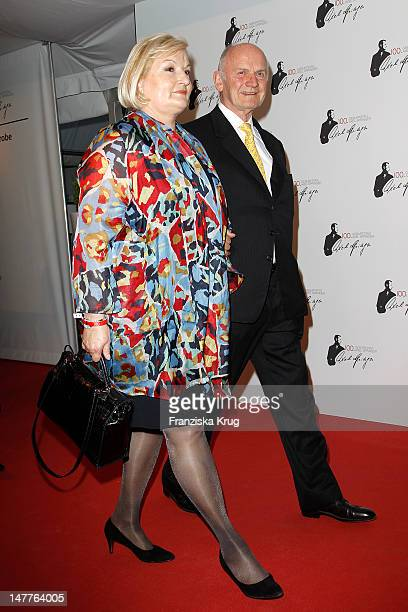 Ferdinand Piechand his wife attend the 100th anniversary of founder of Springer Verlag publishing group Axel Springer at the Axel Springer house on...