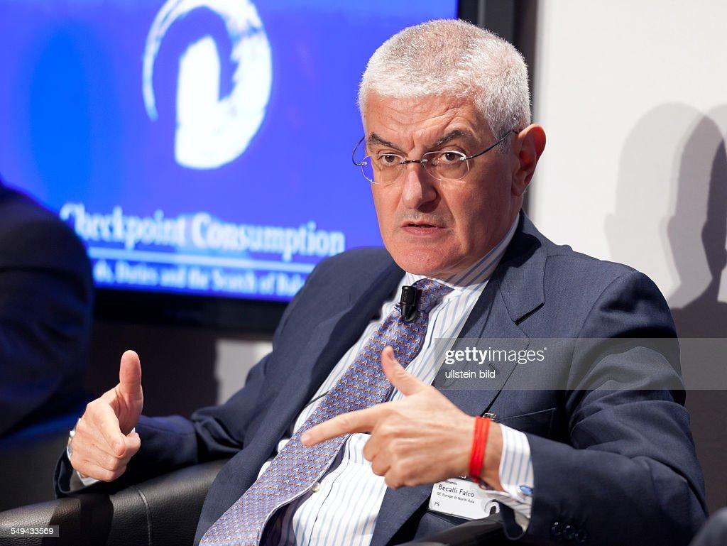 Ferdinando Beccalli-Falco - General Electric : ニュース写真