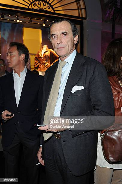 Ferdinando Brachetti Peretti attends Double Life book launch at the Boutique Fay on April 22 2010 in Rome Italy