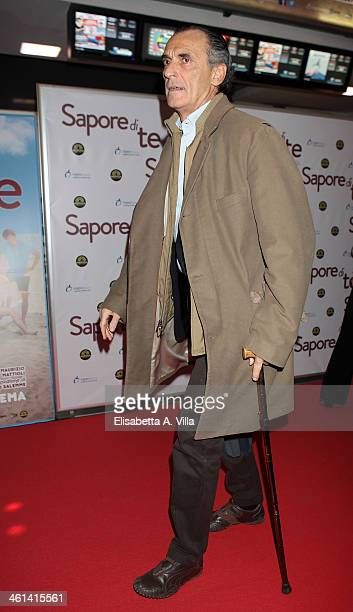 Ferdinando Brachetti Peretti attends 'Sapore Di Te' premiere at Cinema Adriano on January 8 2014 in Rome Italy