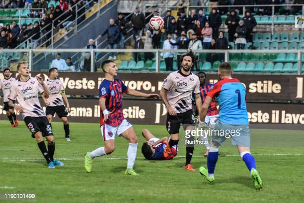 Ferdinando Sforzini during the serie D match between SSD Palermo and ASD Troina at Stadio Renzo Barbera on December 22, 2019 in Palermo, Italy.