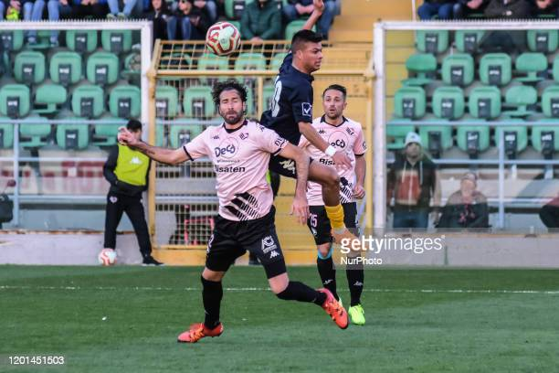 Ferdinando Sforzini during the serie D match between SSD Palermo and ASD Biancavilla at Stadio Renzo Barbera on February 16, 2020 in Palermo, Italy.