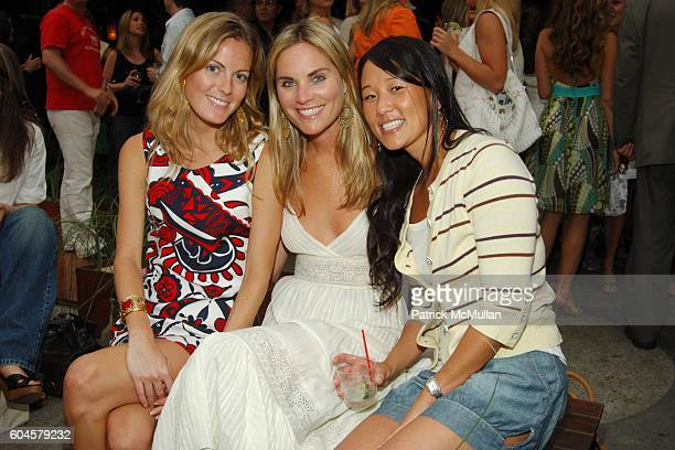 Ferebee Bishop Annie Taube and Deb Lee attend MILLY by Michelle Smith Cabana and Resort Party at Cabana on June 14 2006 in New York City