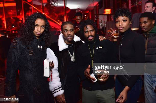 Ferg and guests attend Alex Wang's Big Trouble In Little China At The Rainbow Room Powered by Cash App on February 9 2019 at The Rainbow Room in New...