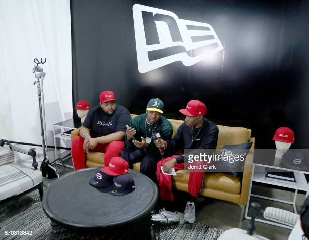 Ferg attends New Era Cap 2017 Complex Con Ambassador Collab lounge with A$AP Ferg Mike Will MadeIT Jerry Lorenzo Takashi Murakami and Ghostface...