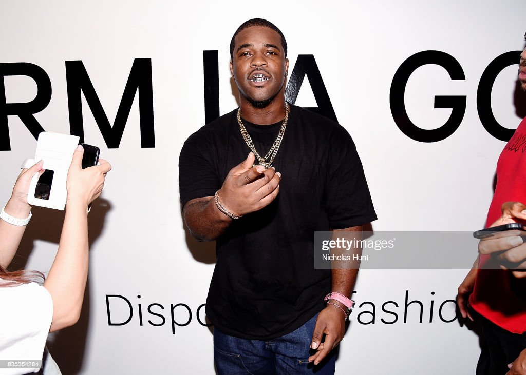 Ferg attends Pop-Up Shop launch for clothing brand UNIFORM on August 18, 2017 in New York City.