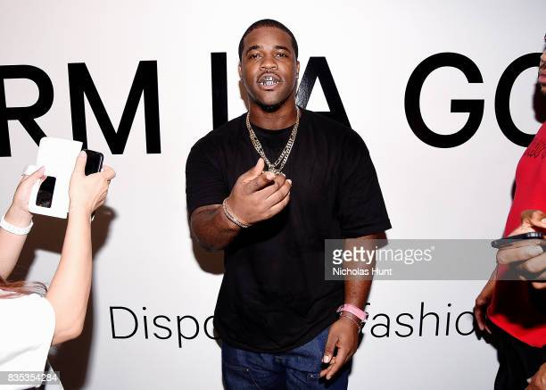 Ferg attends PopUp Shop launch for clothing brand UNIFORM on August 18 2017 in New York City