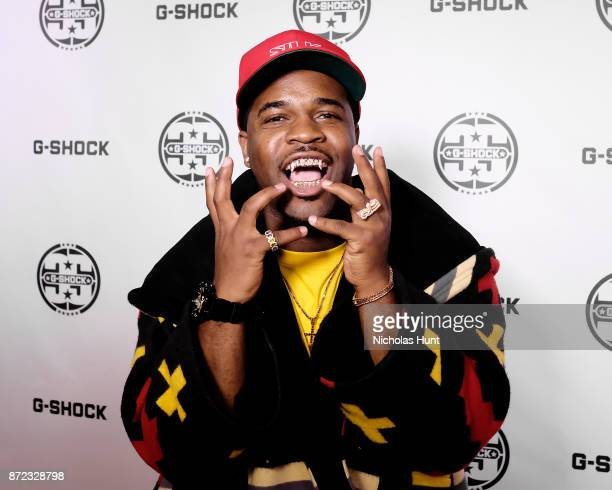 Ferg attends the GShock 35th Anniversary Celebration at The Theater at Madison Square Garden on November 9 2017 in New York City