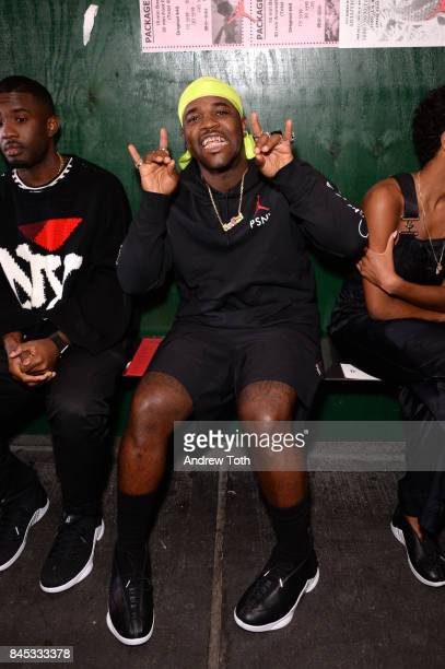 Ferg attends the Public School fashion show during New York Fashion Week on September 10 2017 in New York City