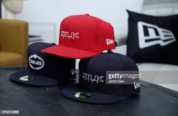 Ferg custom collaboration with New Era Cap 2017 Complex Con Ambassador Collab lounge with A$AP Ferg Mike Will MadeIT Jerry Lorenzo Takashi Murakami...