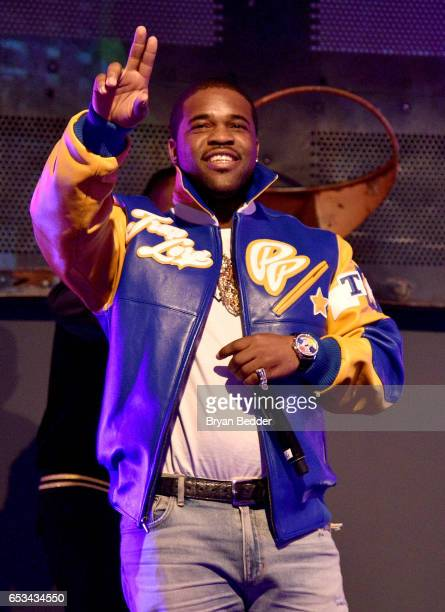Ferg performs at Experience Harlem hosted by Airbnb and Ghetto Gastro on March 14 2017 in New York City