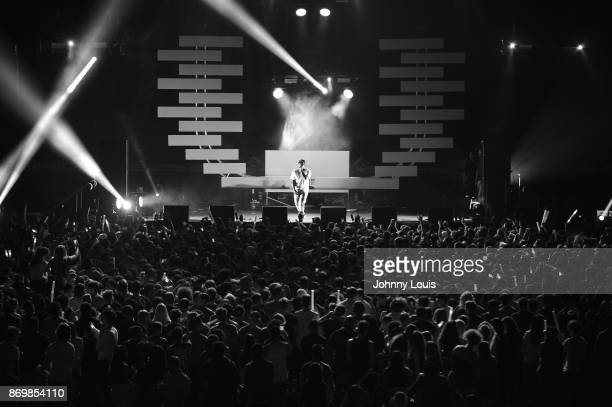 A$AP Ferg performs during the University Of Miami 2017 Homecoming Concert at Watsco Center on November 2 2017 in Coral Gables Florida